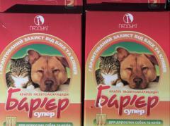 Капли от блох для котов и собак, Украина, средства