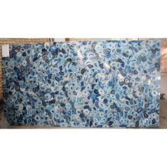 Blue Agate Голубой агат - полудрагоценный
