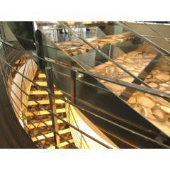 Лестница из натурального агата с подсветкой
