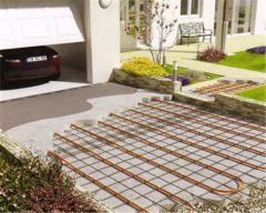 Heating systems of sidewalks