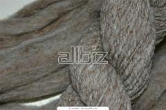 Пряжа льняная суровая (100% лен) суровая  400 текс-480текс