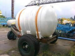 Емкость для перевозки КАС и воды 5000 литров