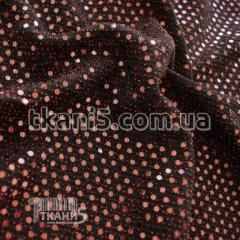 Ткань Трикотаж люрекс с пайеткой (красный)