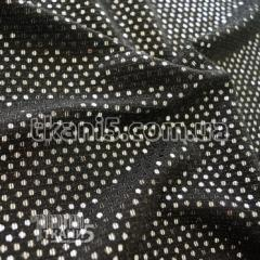 Ткань Трикотаж люрекс с пайеткой (серебро)