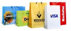 Картонные пакеты с логотипом