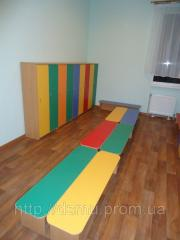 Скамейка детская для детского сада