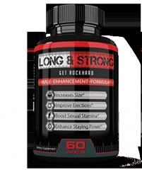 Капсулы для повышения потенции Long&strong (Лонг энд стронг)