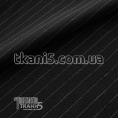 Ткань Мадонна полоска (черно-белая)