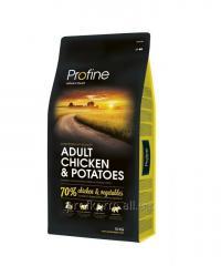 Profine Adult Chicken Potatoes курица и картофель для взрослых собак