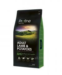Profine Adult Lamb Potatoes ягненок и картофель для взрослых собак