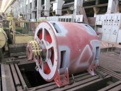 Электродвигатель асинхронный трехфазный с фазным