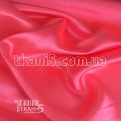 Ткань Атлас обычный розовый(неон) УЦЕНКА