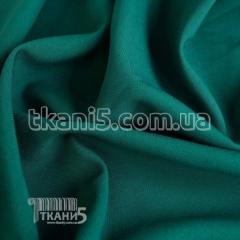 Ткань Габардин морская волна УЦЕНКА