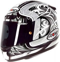 Итальянский шлем CASCO SY APEX TORNADO SIL