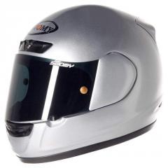 Фирменный шлем CASCO SUOMY APEX MONO SILVER XL