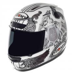 Современный итальянский шлем CASCO SY APEX WHITE ANGEL 3XL