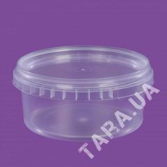 Ведро пластиковое круглое АР0.5л