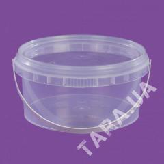 Ведро пластиковое круглое АР0.57л