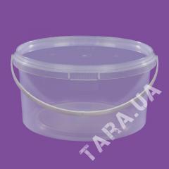 Ведро пластиковое круглое AP1,5л