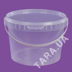 Ведро пластиковое круглое AP2.0 л