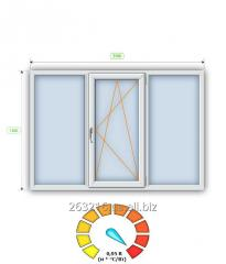 Металлопластиковое Энергосберегающие окно Steko R700 (2100х1400) Full +