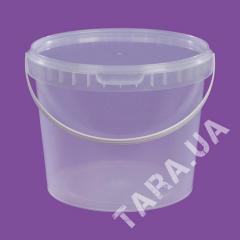 Ведро пластиковое круглое АР2.3 л