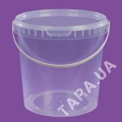 Ведро пластиковое круглое АР2.8л