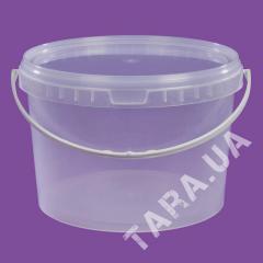 Ведро пластиковое круглое АР3.25 л