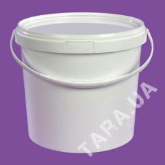 Ведро пластиковое круглое АР5.8 л