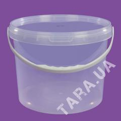 Ведро пластиковое круглое LP10.0 л