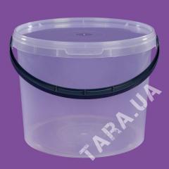 Ведро пластиковое круглое LP5.0 л