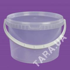 Ведро пластиковое круглое АР11.0 л