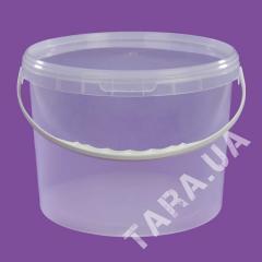 Ведро пластиковое круглое АР5.5 л
