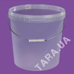 Ведро пластиковое круглое PB33.0 л
