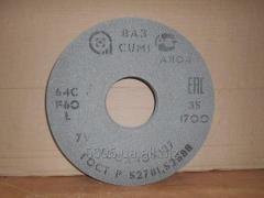 Круг шліфувальний 64С 400х40х127 25-40СМ