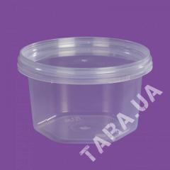Стакан круглый пластиковый VP210мл шестигранный