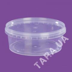 Судок круглый пластиковый AP385 мл