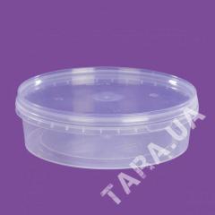 Судок круглый пластиковый AP400 мл