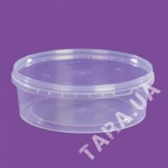 Судок круглый пластиковый AP500 мл
