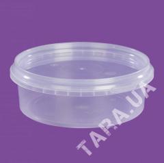 Судок круглый пластиковый VP350 мл