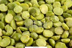Горох желтый шлифованный, колотый и целый собственного производства, горох зеленый шлифованный