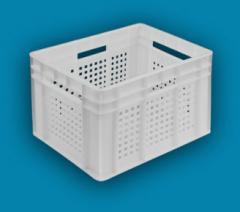 Ящик пластиковый 433*347*283 перф. стенки