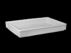 Ящик 600*400*80 тип 1, сплошн. стенки и дно