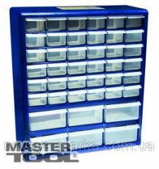 MasterTool Органайзер 42 выдвижные секции 380*165*440мм, Арт.: 79-3021