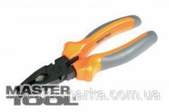 MasterTool Пассатижи 180 мм, С50, фосфатированные, HRC 55~60, Арт.: 25-0180
