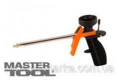 MasterTool Пистолет для монтажной пены мм, пластиковый корпус, Арт.: 81-8679