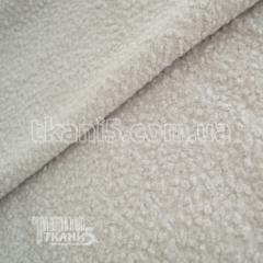 Ткань Шерсть букле барашек (светло-серый)