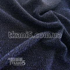 Ткань Трикотаж люрекс (электро-синий)