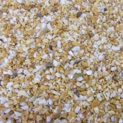 Мраморная крошка желтая Сиена 1,2-1,8 мм