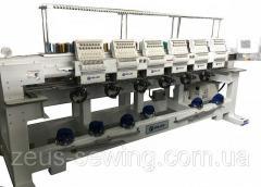 Многоголовочные высокоскоростные вышивальные машины для «рукавной» и «плоской» вышивки Velles VE 1210 HS-CAP